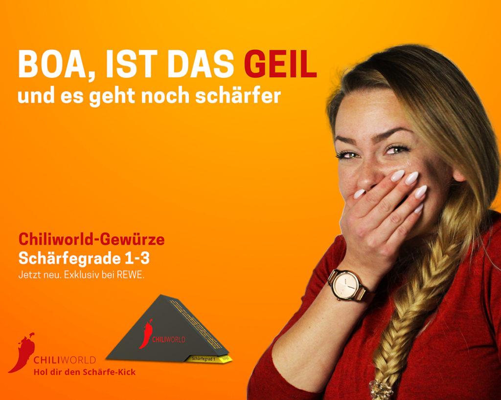 Chiliworld Kampagne